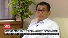 VIDEO: Kemenag Cabut Izin Operasional 11 Perusahaan Umrah