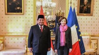 Prabowo Temui Menhan Prancis Incar Teknologi Alutsista