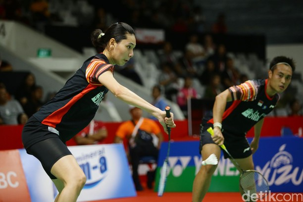 Hafiz-Gloria Kandas di Babak Pertama Indonesia Masters 2020