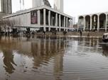 Bukan Cuma Jakarta, New York Juga Bisa Kebanjiran