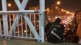 Kepolisian Iran menampik bahwa aparatnya telah bertindak represif dalam meredam unjuk rasa.(AP Photo)
