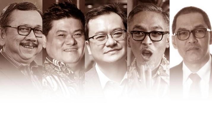 Kejaksaan Agung (Kejagung) akhirnya menahan lima orang terkait megaskandal dugaan korupsi di PT Asuransi Jiwasraya (Persero).