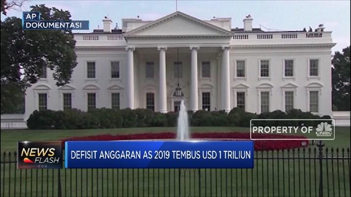 Defisit anggaran as terancam tembus US$ 1 T