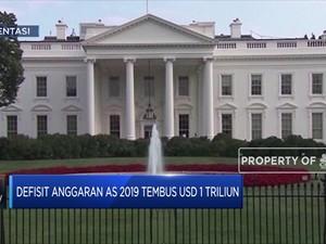 Wow! Defisit Anggaran AS Tembus US$ 1 Triliun
