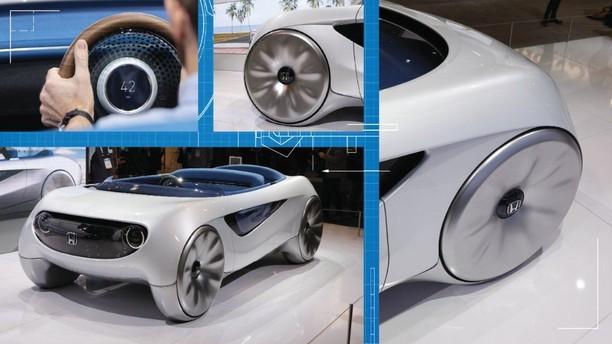 Mobil Otonom Masa Depan Honda