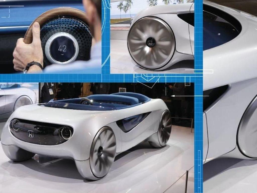 Honda mengatakan teknologi ini memungkinkan pengemudi memilih sendiri ingin mengendarai mobilnya sendiri atau otonom. Foto: Pool (Autoevolution)
