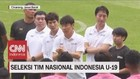 VIDEO: Shin Tae Yong di Seleksi Tim Nasional Indonesia U-19