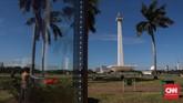 Pembangunan monumen ini dimulai pada tanggal 17 Agustus 1961 di bawah perintah presiden Sukarno dan dibuka untuk umum pada tanggal 12 Juli 1975. (CNNIndonesia/Safir Makki)