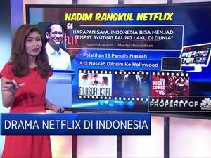 Drama Netflix, Dikejar Srimul Dirangkul Nadiem