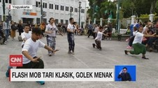 VIDEO: Flash Mob Tari Klasik, Golek Menak