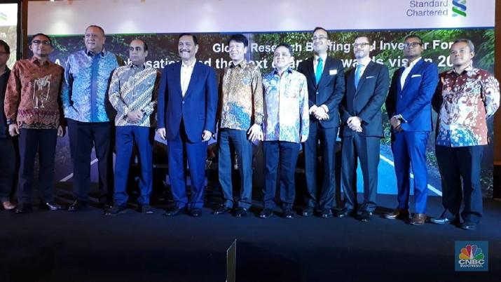 Demikian dikatakan Luhut dalam Standard Chartered Global Research Briefing and Investor Forum 2020 di Hotel Mulia Senayan, Jakarta, Rabu (15/1/2020).
