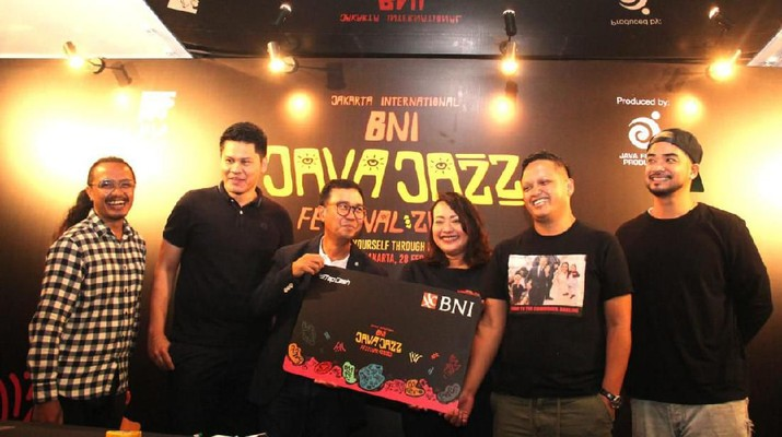 Persiapan BNI Java Jazz Festival 2020