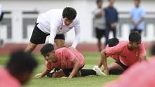 Tae Yong Genjot Fisik Timnas Indonesia U-19 di Thailand