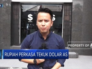 Sorry Dolar AS, Rupiah Makin Perkasa