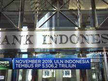 November 2019, Utang Luar Negeri RI Tumbuh 8,3%