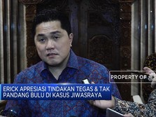Bentjok Ditangkap Kejagung, Ini Respon Erick Thohir