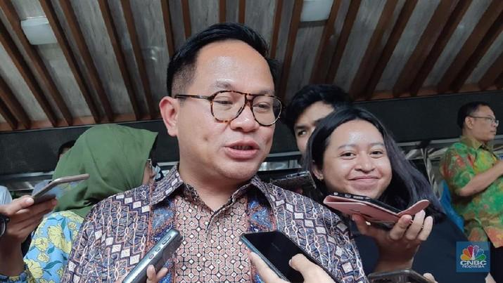 Wakil Menteri BUMN Kartika Wirjoatmodjo (CNBC Indonesia/Lidya Kembaren)