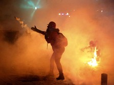 Pascaledakan Dahsyat Beirut, Protes & Bentrok Landa Lebanon