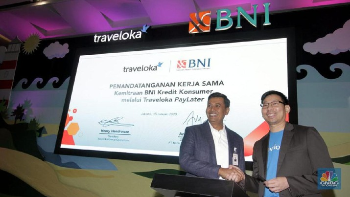 Kolaborasi BNI & Traveloka Garap Bisnis Paylater Rp 6 T