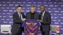 VIDEO: Quique Setien Resmi Gantikan Valverde di Barcelona