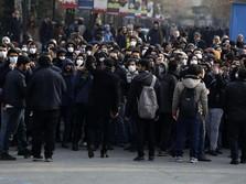Iran Membara, Massa Serukan Demo Besar Tuntut Pemerintah