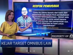 Kejar Target Omnibus Law