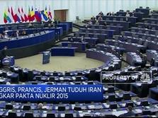 Resmi! Eropa Kini di Seberang Iran Soal Nuklir