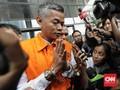 Komisioner KPU Wahyu Setiawan Hadiri Sidang Etik di Rutan KPK