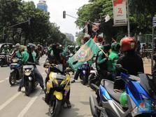 Ribuan Driver Ojol Demo di Monas Hari Ini, Begini Tuntutannya