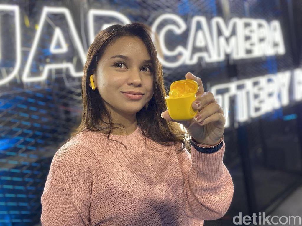 Penampakan Realme 5i dan Buds Air yang Siap Goda Kantong