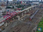 Tak Masuk Strategis, Proyek-Proyek Kereta DKI Dicoret Jokowi