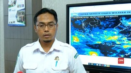 VIDEO: Siklon Tropis Claudia Jauhi Wilayah Indonesia