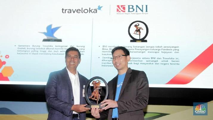 BNI siap mendukung Traveloka yang akan menggarap potensi penyaluran pembiayaan hingga Rp 6 triliun di tahun 2020 melalui fitur Traveloka Paylater.
