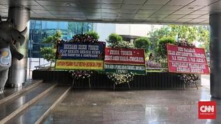Karangan Bunga Loyo untuk Erick Bongkar Kasus Jiwasraya