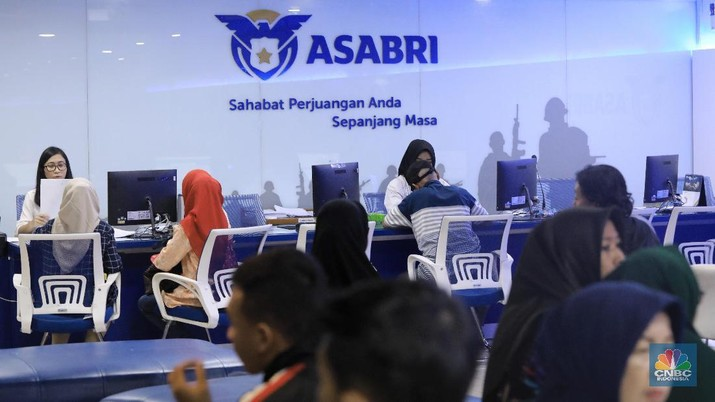 Kantor Pelayanan ASABRI (CNBC Indonesia/Andrean Kristianto)