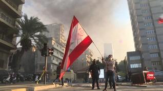 VIDEO: Demo Warga Libanon Tuntut PM Baru