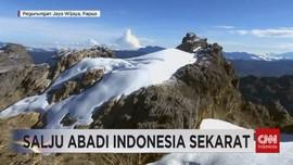 VIDEO: Salju Abadi Indonesia Sekarat