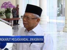 Ma'ruf Amin Bicara Soal Dana Skandal Jiwasraya