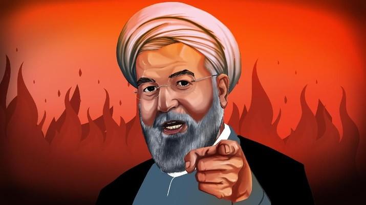 INFOGRAFIS, Konflik AS-Iran, Militer As-Eropa Dalam Bahaya