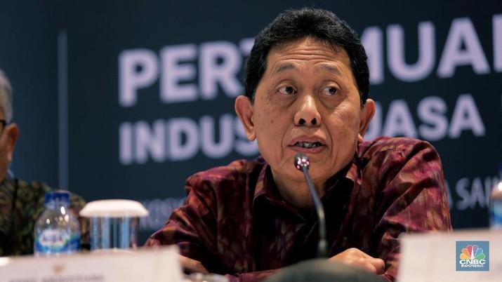 Kepala Eksekutif Pengawas Perbankan, Anggota Dewan Komisioner OJK, Heru Kristiyana SH (CNBC Indonesia/Tri Susilo)
