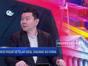 Analis: Deal Dagang AS-China Fase I Disikapi Biasa oleh Pasar