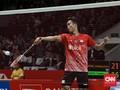 Anthony Ginting Tak Kesulitan ke Semifinal Indonesia Masters