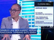 Omnibus Law Beri karpet Merah Ke Pengusaha Batu Bara