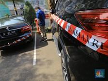 Mobil Mewah Diduga Sitaan Kasus Jiwasraya Antre di Kejagung