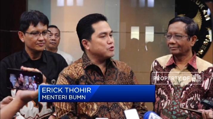 Erick Thohir: Lebih Enak Jadi Pengusaha Daripada Menteri