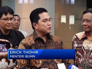Bahas Asabri, Ini Hasil Pertemuan Erick Thohir & Mahfud MD