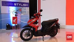 Honda Beat Meluncur, Pakai Rangka dan Mesin Baru