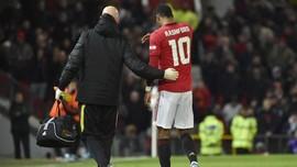 Jelang Liverpool vs MU: Rashford Menghilang dari Skuat