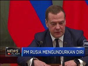 PM Rusia Tiba-tiba Mengundurkan Diri, Ada Apa Gerangan?