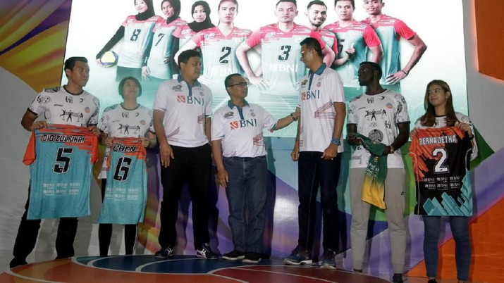 Tim Voli Jakarta BNI 46 Mengincar Juara Proliga 2020